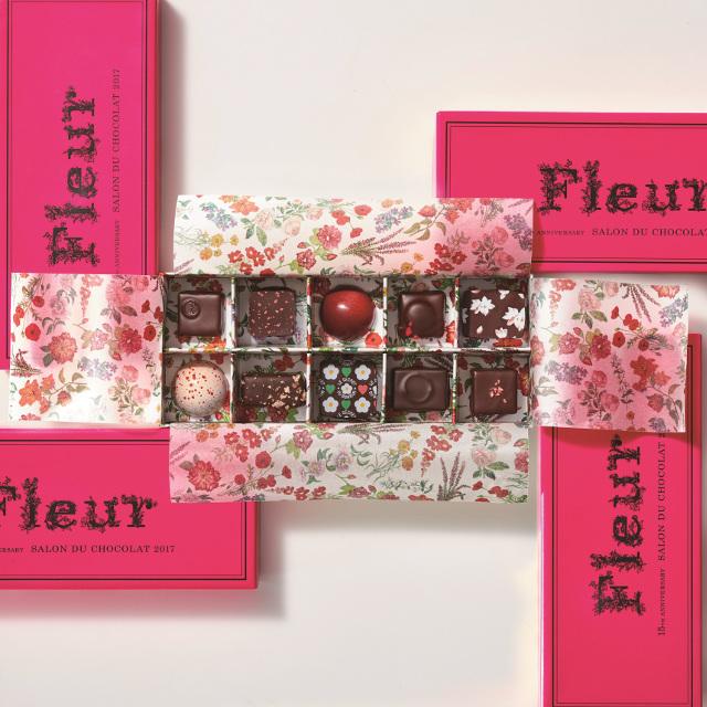 Fleur〈フルール〉(10個入:10ブランドから各1個)税込み6,480円