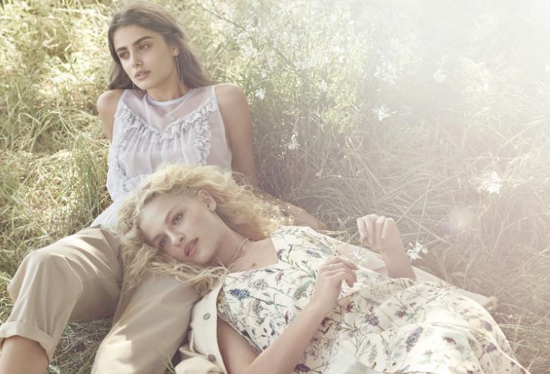 Itモデルがキャンペーンに登場! 春のマストハブファッションはH&Mから❤