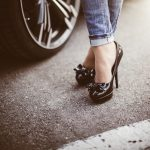 woman-in-black-high-heels-standing-next-to-a-car-2-picjumbo-com