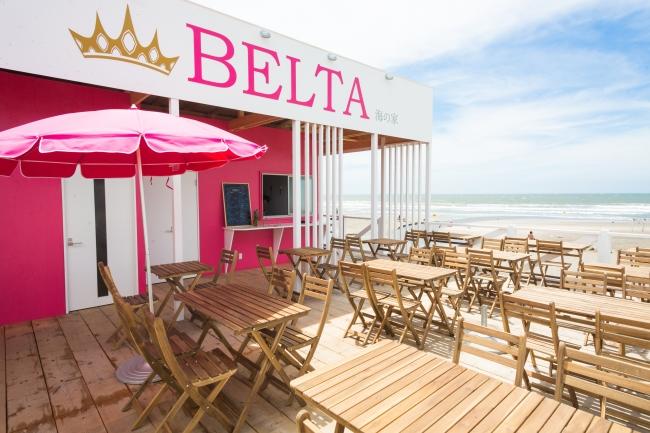 【BELTA海の家】ステーキやヘルシーなサラダボール、酵素シャーベット付きのかき氷を販売しています!