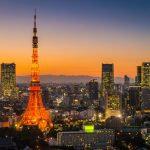 Tokyo-Tower-skyscrapers-neon-futuristic-cityscape-illuminated-sunset-Japan-477440506_1256x838