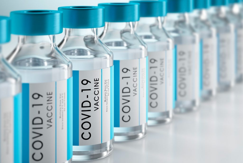 closeup-of-bottles-of-covid19-vaccine-picture-id1288583851